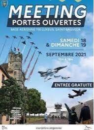 Meeting Aérien Luxeuil les 18 et 19 Septembre 2021